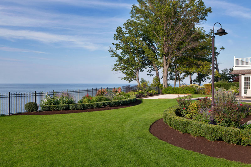 Story Of A Landscape Lakefront Property Gets Euro Inspired